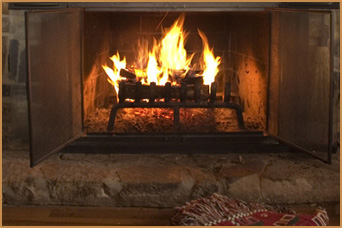 Warm yourself by the fire this winter!